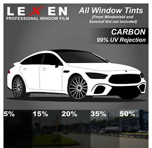 All Windows Precut 2ply Premium Carbon Film Kit Computer Cut Car Glass Tint