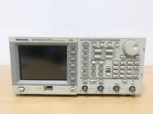 Tektronix Afg3252 Dual Channel Arbitrary Function Generator 240mhz 2gs s