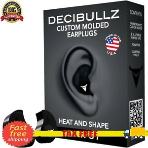 Custom Molded Ear Plugs Comfortable Hearing Protection For Shooting Travel Sleep