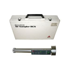Biotest Hycon 940015 Rcs Ambient Air Sampler W case Agar Strips Manual