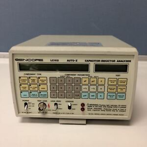 Sencore Lc102 Auto z Capacitor Inductor Analyzer Untested Free Shipping