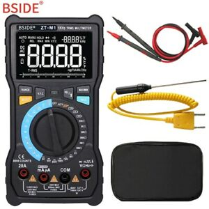 Bside Zt m1 Auto manual Digital Multimeter Trms 8000 3 line Display Vfc Tester