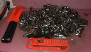 Huge Lot Of Vintage Mixed Sockets Most Made In Usa
