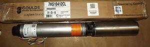 New 4 Gould 1hp 7hs10412cl Well Sump Pump Centripro M10412 01 Motor