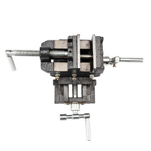 High Quality Cross Slide Vise 4 Inch Wide Drill Press X Y Clamp Milling