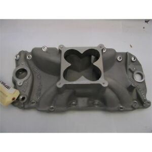 Gs Offenhauser Chevy 396 454 Supersonic Intake Manifold For Holley 4500