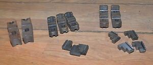 14 Machinists Lathe Chuck Jaws Collectible Metal Working Work Holder Tool Lot