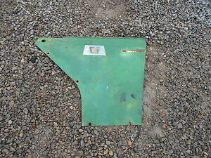 Oliver 770 Diesel Tractor Right Rear Side Curtain