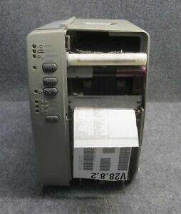 Zebra Stripe S600 Direct Thermal Label Barcode Printer tested Working