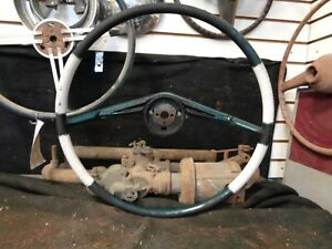 1955 1956 Packard Steering Wheel Deluxe Two Toned Patrician Caribbean Exec