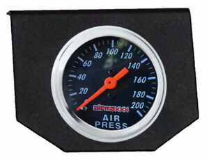 Air Ride Suspension Single Needle Gauge Panel 200 Psi Display No Switches
