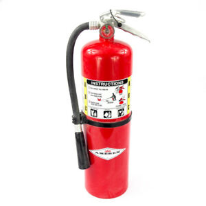 New Amerex B456 Abc Dry Chemical Fire Extinguisher With Aluminum Valve 10 Lb