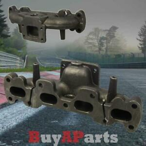 For Mazda Miata 1994 2005 Mx5 Dohc 1 8l Bolt On T3 t4 Cast Iron Turbo Manifold