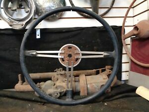 1948 1952 Buick Deluxe Steering Wheel Flex Banjo Style Core For Rebuild