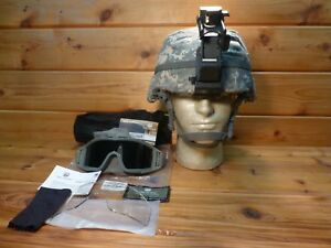 USGI MICH BALLISTIC COMBAT HELMET SIZE LARGE L-5 BAE ADVANCED  MADE WITH KEVLAR