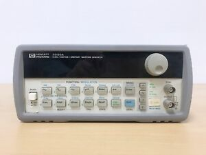 Agilent Hp 33120a 15mhz Function Arbitrary Waveform Generator