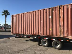 Used Shipping Container 20ft Standard Height Water Sealed