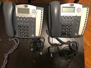 2 At t 974 4 line Used Small Business System Office Phone With Power Switch