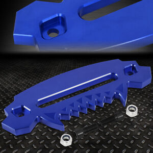 Blue 10 Aluminum Hawse Fairlead For Synthetic Winch Rope Cable Lead Guide 4x4