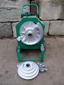 Greenlee 555 Bender 1 2 2 Inch Pipe Electric Bender Very Late Model 2
