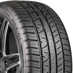 2 New 225 50 17 Cooper Zeon Rs3 g1 All Season Tires 225 50 17