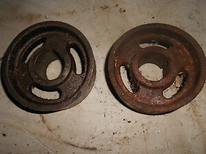 International 154 Cub Low Boy Tractor Brake Drums