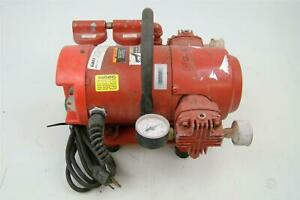 Gast Vacuum Pump For Core Drill Rigs 1vbf 25 m100x