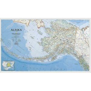 National Geographic Re00620168 Map Of Alaska Laminated