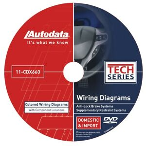Autodata 11 Cdx660 2011 Wiring Diagrams Dvd Srs And Abs