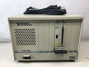 National Instruments Pxi 1002 Chassis With Ni Pxi 6031e Ni Pxi 8330 Mxi 3