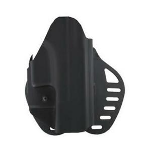 Hogue 52019 Powerspeed Paddle Holster Rh Fits For Glock 19 23 25 32 38 Black
