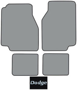 1978 1979 Dodge Magnum Cutpile Carpet Logo Floor Mat 4pc