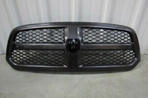 2013 2014 2015 2016 2017 Dodge Ram 1500 Oem Gray W Black Honeycomb Insert E1