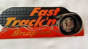 Snap On Fast Track N New Old Stock Snap On Tools Racing Decal 8