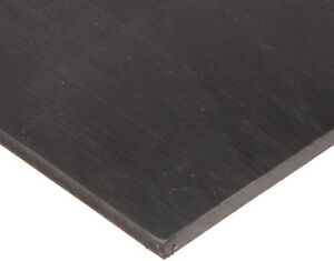 Polyurethane Sheet Adhesive 90a Smooth Astm D 470 Black 3 8 Thick 1
