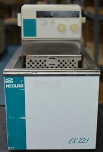 Thermo Scientific neslab Ex221 Chiller Recirculating Refrigerated Water Bath Cir