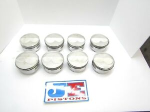 Je Domed Sb Chevy Pistons 4 125 Bore Imca Ump Dragracing Sbc 12