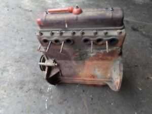 Case Sc Serial 5418465 Tractor Complete Motor Runs Great