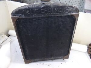 Allis Chalmers Wc Tractor Radiator