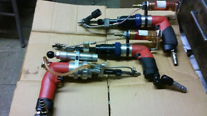 Lot Of 3 2 Mlba 1 Mmla Serial Sioux Brand Pneumatic Air Drill Made In Usa