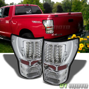 For 2007 2013 Toyota Tundra Led Tail Brake Lights Left Right Aftermarket 07 13