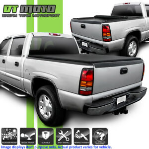 Roll Up Tonneau Cover For 1999 2006 Chevy Silverado Sierra 6 5ft Fleetside Bed