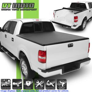 Soft Roll Up Tonneau Cover For 1997 2003 Ford F150 6 5 Feet 78 Styleside Bed