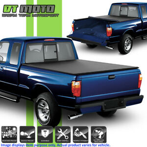 Soft Roll Up Tonneau Cover For 1983 2011 Ford Ranger 6 Feet 72 Styleside Bed
