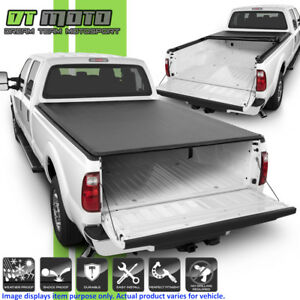 Soft Roll Up Tonneau Cover For 1999 2018 Ford F250 Superduty 6 5ft 78 Bed