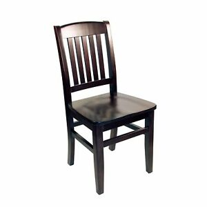 New Kodiak Walnut Wooden Commercial Restaurant Chair