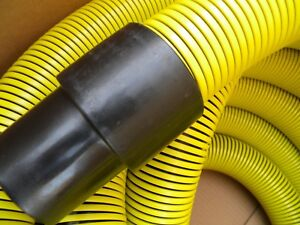 Carpet Cleaning Truck mount 2 Vacuum Hose Yellow