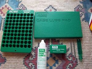 RCBS Deburring Tool 09349Case Lube Kit and Loading Block