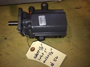 Northern Tool concentric 1053 13 6 Gpm 2 stage Hydraulic Pump log Splitter