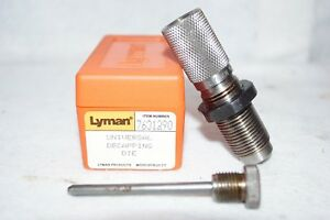 LYMAN UNIVERSAL DECAPPING DIE NO. 7631290